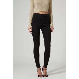 NWOT Topshop Black Joni Jeans